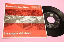 RIVERSIDE JAZZ BAND EP LA COPPA DEL JAZZ ORIG ITALY JAZZ 1960 TOP RARE