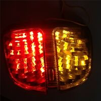 For Brake Tail lights For 2006 2007 GSXR 600 GSX-R600 750 GSX-R750 Clear LED