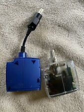 Two Mad Catz Wireless MicroCon Adapter Dongle Receiver  Xbox 4586 Clear & Blue