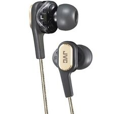 JVC Victor HA-FXT90L2 FXT90 Twin System In-ner Earphone Stereo Headphone/gold