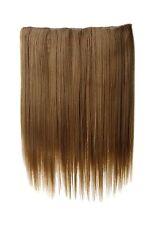 Haarteil breit Haarverlängerung 5 Clips glatt Blond Honigblond 45cm L30173-15