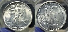 1943 P Silver Walking Liberty Half Dollar 50c PCGS MS 63 Old Holder