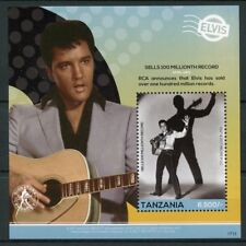 Tanzania 2017 MNH Elvis Presley His Life in Stamps 1v S/S IV Celebrities Music