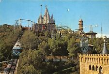 BF37925 barcelona spain  cumbre del tibidabo  train railway chemin de fer
