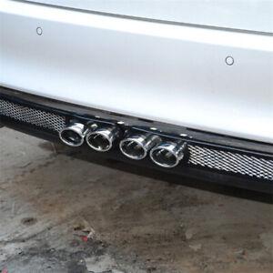 2pcs/set Black Automobile Decorative Air Outlet False Exhaust Hole Bobbin