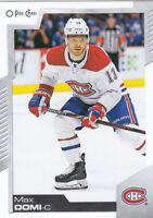 20/21 OPC...MAX DOMI...CARD # 157...CANADIENS...FREE COMBINED SHIPPING
