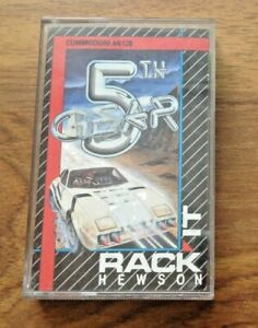 5th Gear Commodore 64 C64 Cassette Tape Game. Fast & Free UK Postage