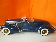 New ListingFranklin Mint 1935 Auburn Speedster Limited Ed #271/9900 1:24 Diecast No Box