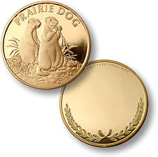 Engravable Proof-Like Coin w/ Case: Prairie Dog