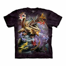 Adult Dragon Clan T-shirt - The Mountain - Anne Stokes