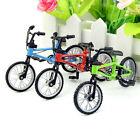 Red Mini Bicycle Bike 1/12 Dollhouse Miniature High Quality Decorations Toys Boy