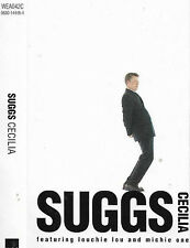 SUGGS CECILIA I FEEL FINE CASSETTE SINGLE Louchie Lou & Michie One Dub Ska Synth