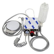 Us Portable Dental Turbine Unit Fit Air Compressor 4hole Water Bottle Equipment