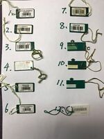 Rolex serial number green Tag . please choose! $13.88 For 1 Tag.