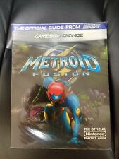 Rare Metroid Fusion Official Player's Guide Game Boy Advance GBA Nintendo Power