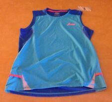 NWT Asics Tiger Mens Fugi Blue Athletic Shirt Work Out Tank NEW Size XL