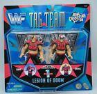RARE WWF /WWE Tag Team Series 1 Legion Of Doom Hawk & Animal Jakks Pacific New