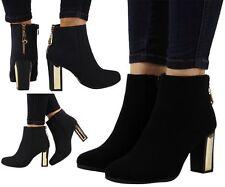 Women's Slim High Heel (3-4.5 in.) Ankle Boots