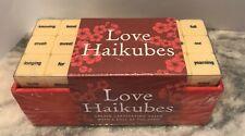 Love Haikubes New Game Set