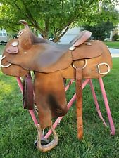 "**BILLY COOK** Training Saddle 16"" Seat"