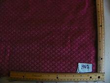 Burgundy Mini Shell Print Damask Fabric / Upholstery Fabric  1 Yard  R462
