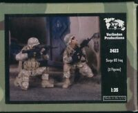 "Verlinden 1/35 US Troops "" Surge US Iraq "" 2 Figures Kit #2423"
