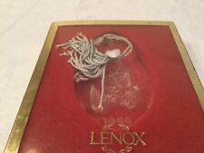 Lenox Crystal 1999 Holy Family Nativity Christmas Ornament - Made In Germany
