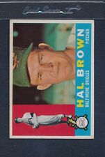 1960 Topps #089 Hal Brown Orioles VG *278