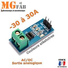 Module ACS712 30A capteur de mesure courant AC DC effet HALL | ARDUINO DIY PIC