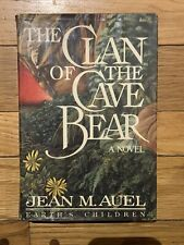 The Clan Of The Cave Bear, True Stated First Edition  - Jean M Auel  1980