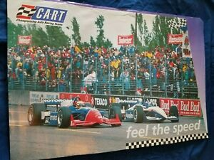 CART Championship Auto Racing Teams Indy 500 Indianapolis Poster Feel the Speed