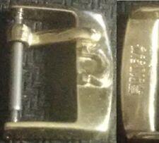 Original Omega Buckle mod 1 Fibbia 14mm inner YGP from '40/50 Mint Cond L@@K