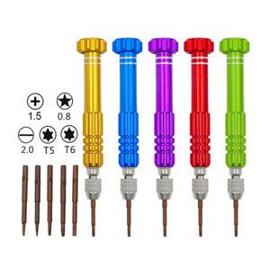 5 In 1 Screwdriver Precision Tool Kit For iPhone/PC/Tablet Repair. UK SELLER