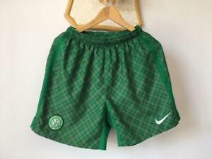 CELTIC 2009 2010 EURO CUP TARTAN FOOTBALL SOCCER SHORTS NIKE 343811-302 MENS (S)