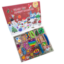 More details for fidget toy advent christmas calendar 24 days - in stock now - 24 toys kids xmas