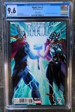MIGHTY THOR #1 CGC 9.6 J Scott Campbell Fried Pie variant Jane Foster NO RESERVE