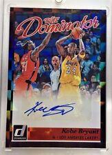 Kobe Bryant 2015-16 Donruss Elite Dominator BLACK Autograph Auto #d 1/1 - LAKERS