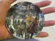 """Avon Canadian Portraits Plate Collection-Alberta Adventure-3rd of 6-1987 4"""""""