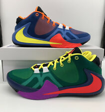 """Nike Zoom Freak 1 """"What The"""" Roots Total Orange Yellow Multi Giannis CT8476-800"""
