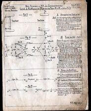 """Concessionnaire AUTOMOBILE CITROEN PARALLELISME """"NOTE TECHNIQUE N°377"""" en 1939"""