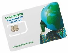 Lycamobile Phone Cards & Data Cards for sale | eBay