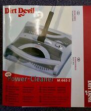 DIRT DEVIL Power Cleaner/Double Brush Sweeper