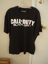 Call of Duty Black Ops II Black T-Shirt men's size x large