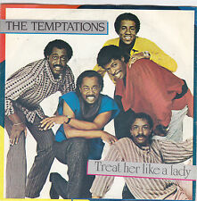 THE TEMPTATIONS - treat her like a lady / isn't the night fantastic 45""