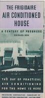 #MISC-0013 - 1933 1934 CHICAGO WORLDS FAIR BROCHURE - FRIGIDAIRE AIR