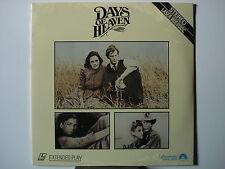 Days of Heaven 1978 Laser Disc Pan & Scan Version NEW Richard Gere Brooke Adams