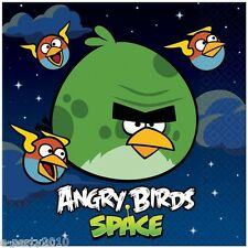 ANGRY BIRDS SPACE LARGE NAPKINS (16) ~ Birthday Party Supplies Dinner Luncheon