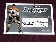 03-04 BAP Ultimate BOBBY ORR Limited Autograph 14/19 Extremely Rare AUTO Signed