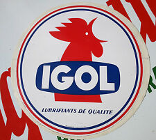 N.O.S decalque IGOL pompe a essence melangeur N.O.S satam boutillon gex gas pump