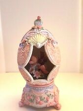 Collectible Classic Treasures Musical Egg Sculpture Someday My Prince Will Come